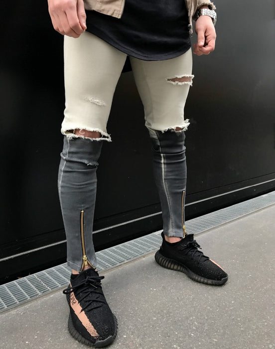 Mens Thunder Ripped Jeans