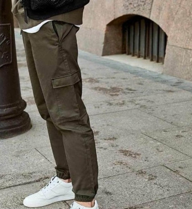 Mens Pocket Flap Pants
