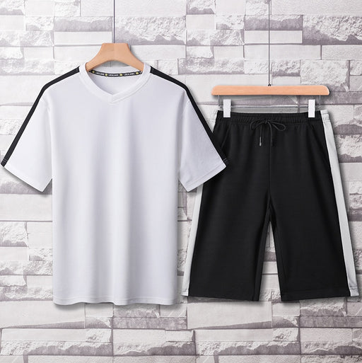 Mens Steo Shirt and Shorts Set