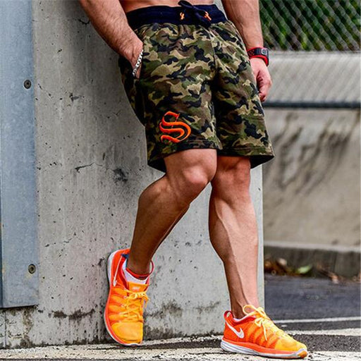 Mens Hyper Camouflage Shorts