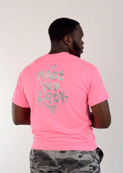 "Safety Pink ""Made You Look"" Tshirt"