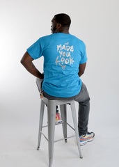 "Safety Blue ""Made You Look"" Tshirt"