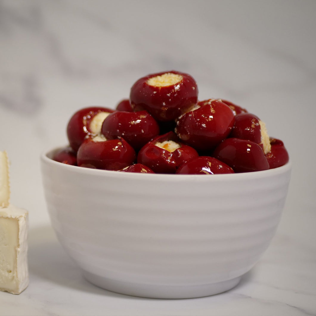Sweet Red Cherry Peppers Stuffed with Cheese 1kg