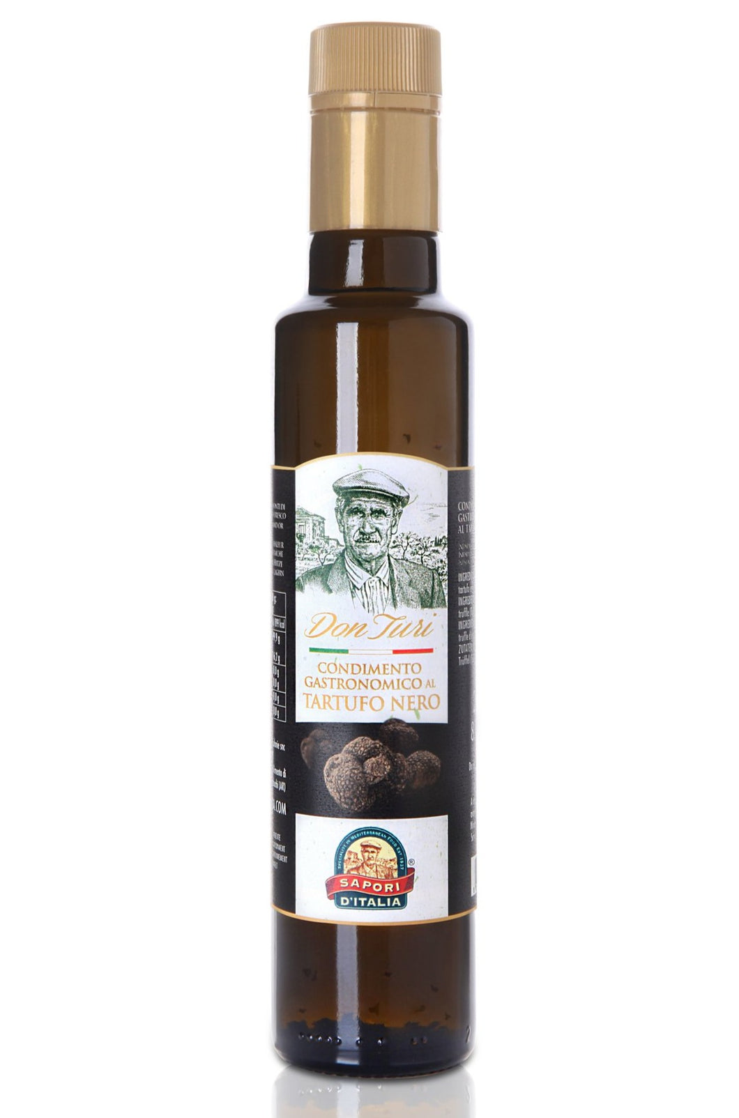 Olio al Tartufo Nero (Black Truffle Olive Oil) 250ml