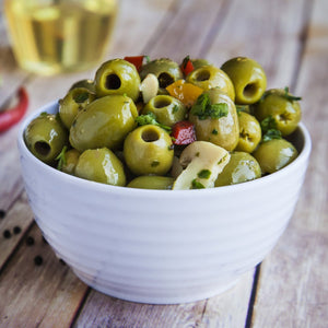Boscaiola (Large Pitted Green Olives) 200g