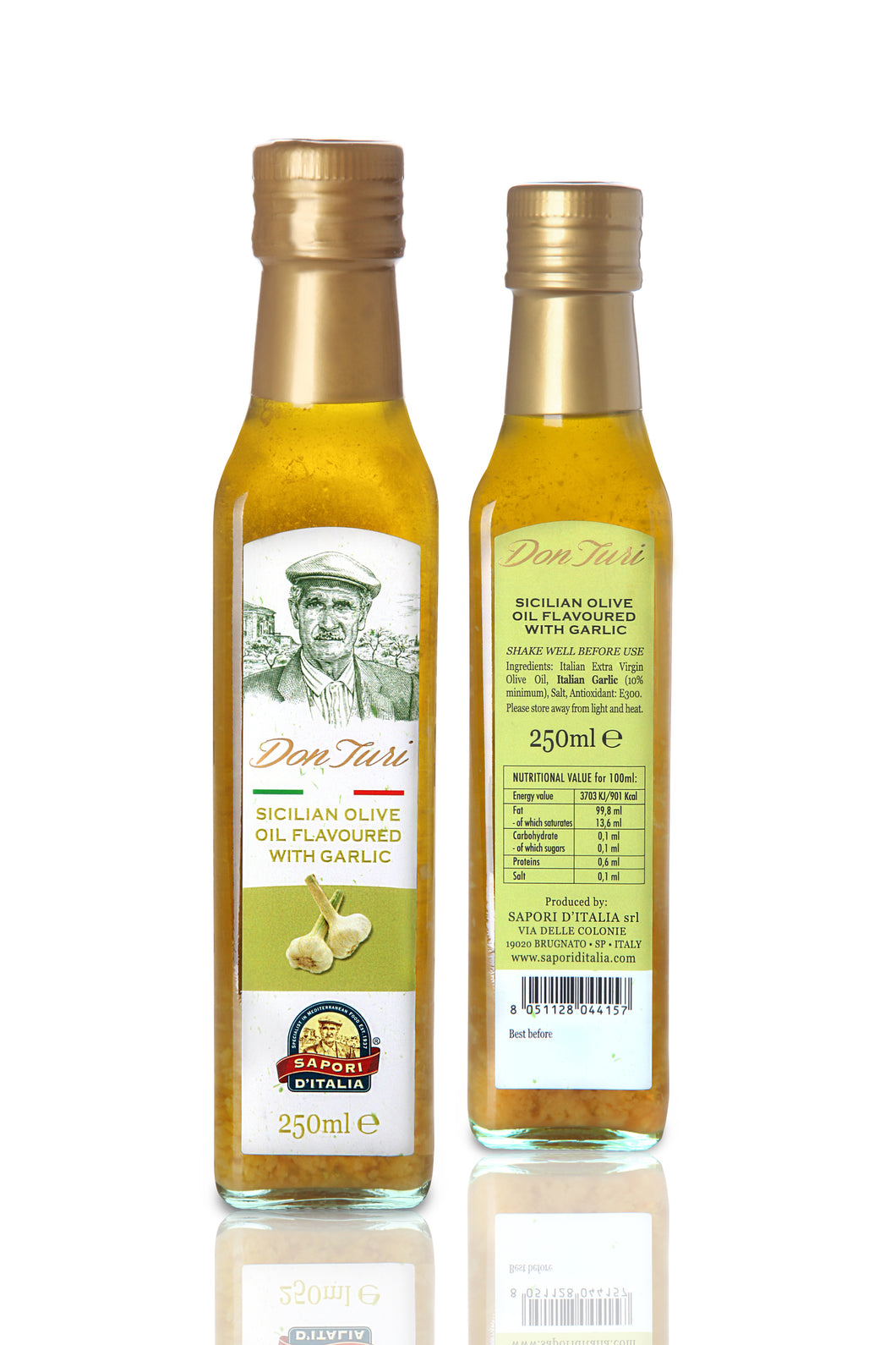 Olio all'Aglio (Fresh Garlic E.V.O. Oil) 250ml