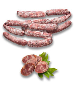 Salsiccia Dolce (Artisan Cured Sweet Sicilian Sausage) 300g (min. weight)