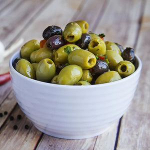 Mistoliva® (Mixed Pitted Olives) 200g