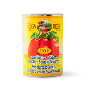 Rega Pomodori San Marzano DOP (Whole Peeled Tomatoes) 400g