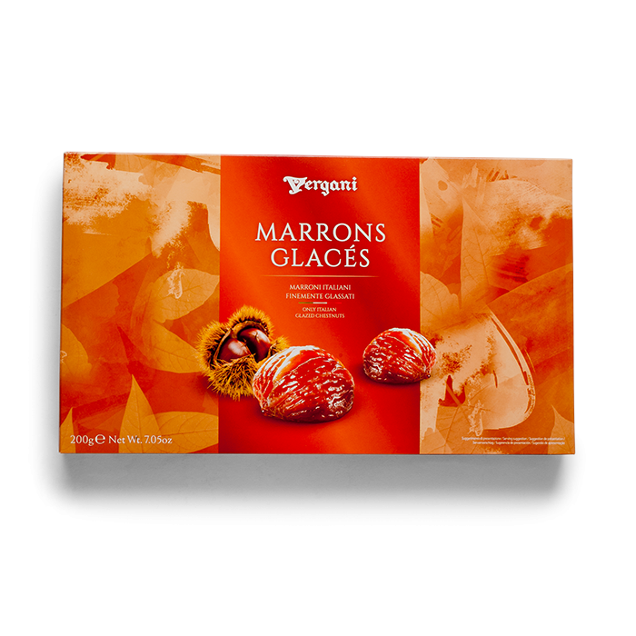Vergani Traditional Marron Glace 200g