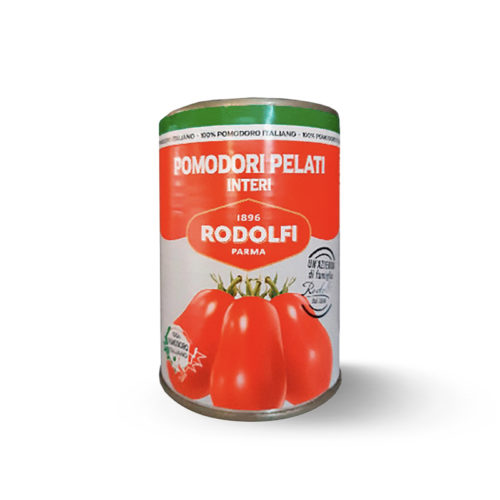 Rodolfi Whole Peeled Tomatoes 400g
