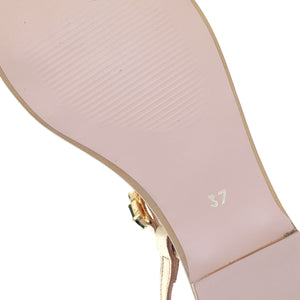 croupon sole leather sandals