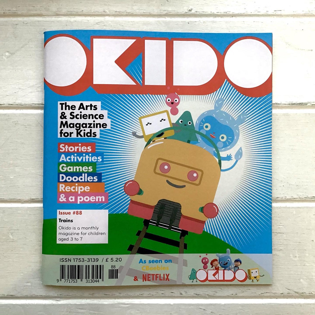 Okido - Issue 88 'Trains'