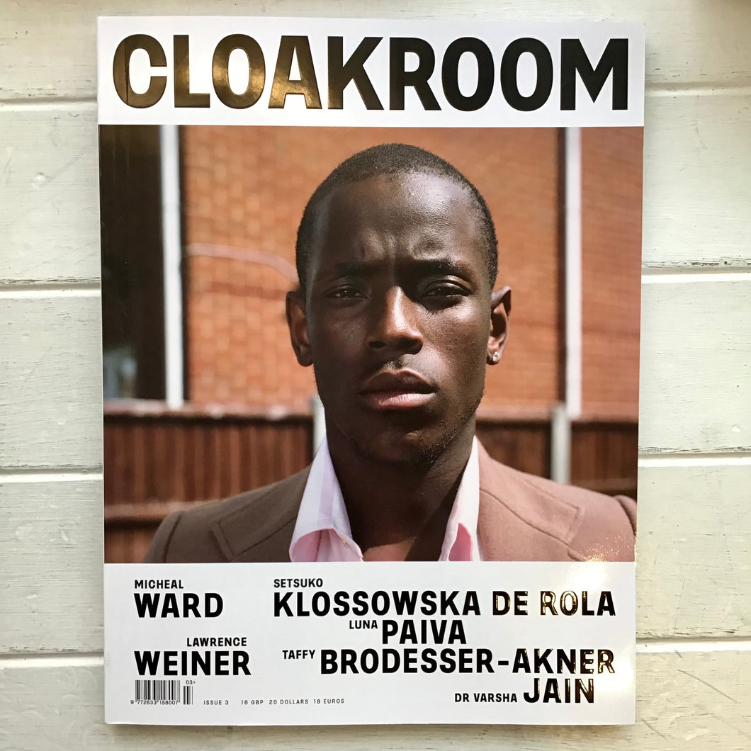 Cloakroom - Issue 3