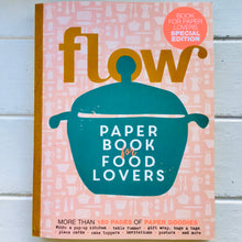 Load image into Gallery viewer, Flow Paper Book for Food Lovers