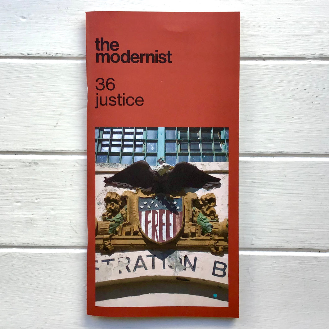 The Modernist - Issue 36 'Justice'