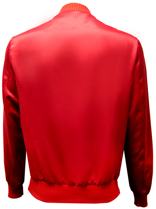YOXEONE Bomber Red Croco