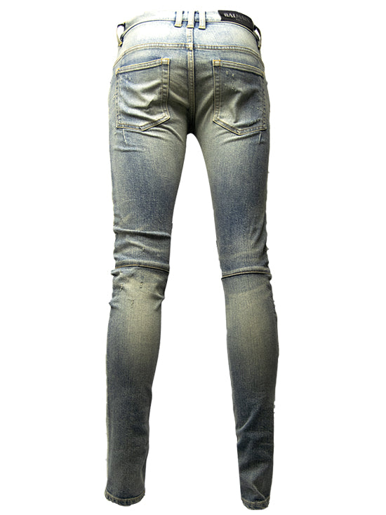 BALMAIN Jeans Light Zip