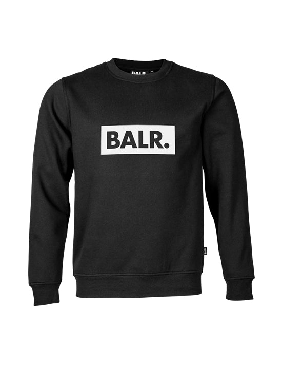 BALR Club Crew Neck Sweater Black