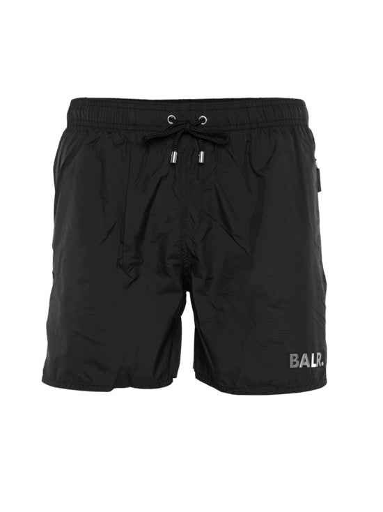 BALR Darck Camo Swim Short Black