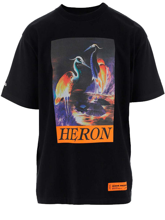 HERON PRESTON Tshirt Black