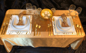 Five Star Dining - Tablescapes for Two
