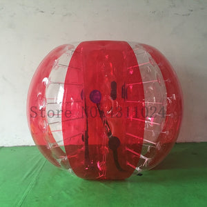 PVC Bubble Human Zorb Hamster Ball (Staying Safe and Having Fun)