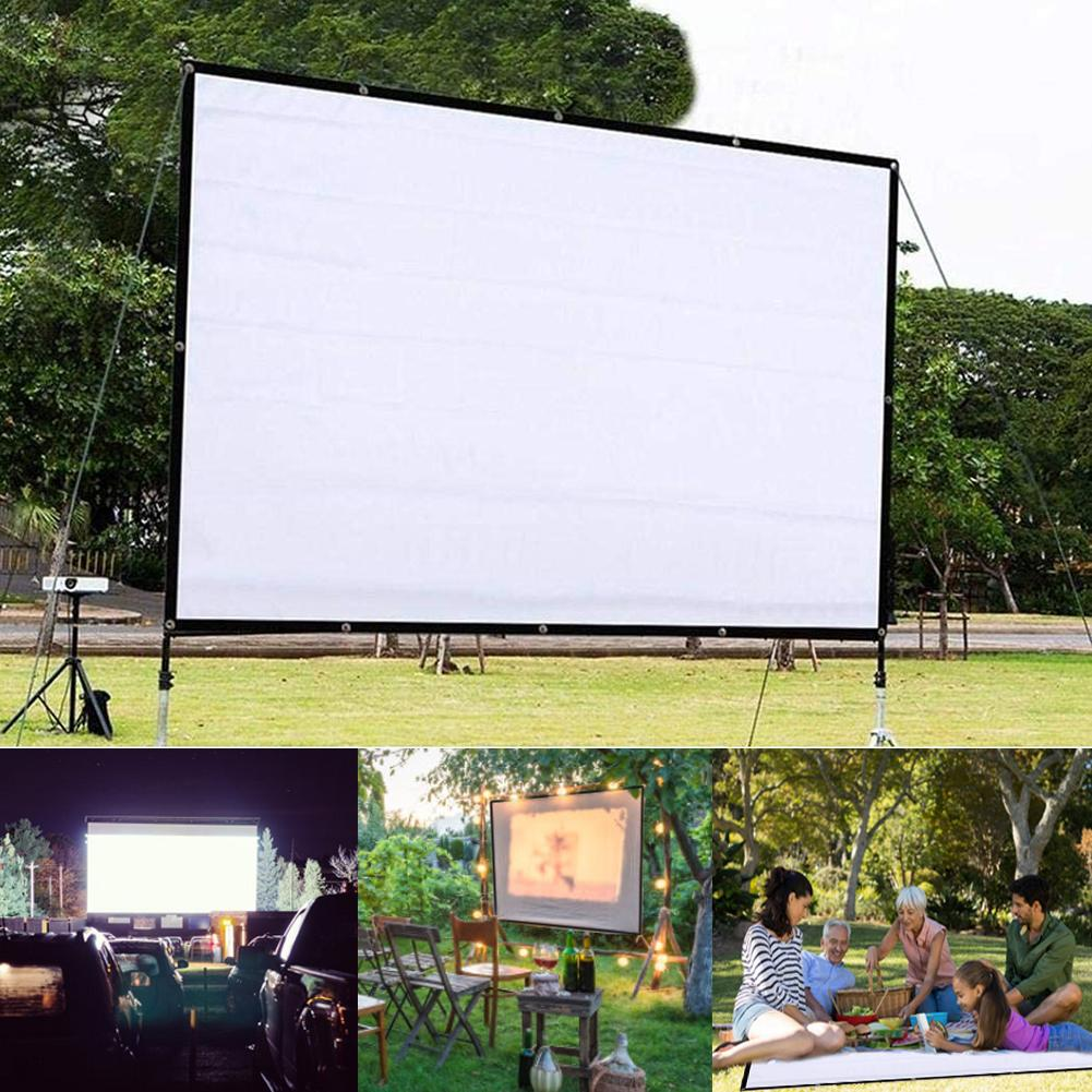 Portable Foldable 150 inch Projector Screen