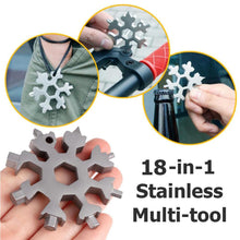 Load image into Gallery viewer, 18 in 1 Snowflake Multifunctional Screwdriver, Christmas Gift Filler (2020 Essentials)