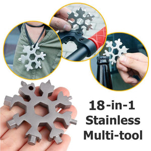 18 in 1 Snowflake Multifunctional Screwdriver, Christmas Gift Filler (2020 Essentials)