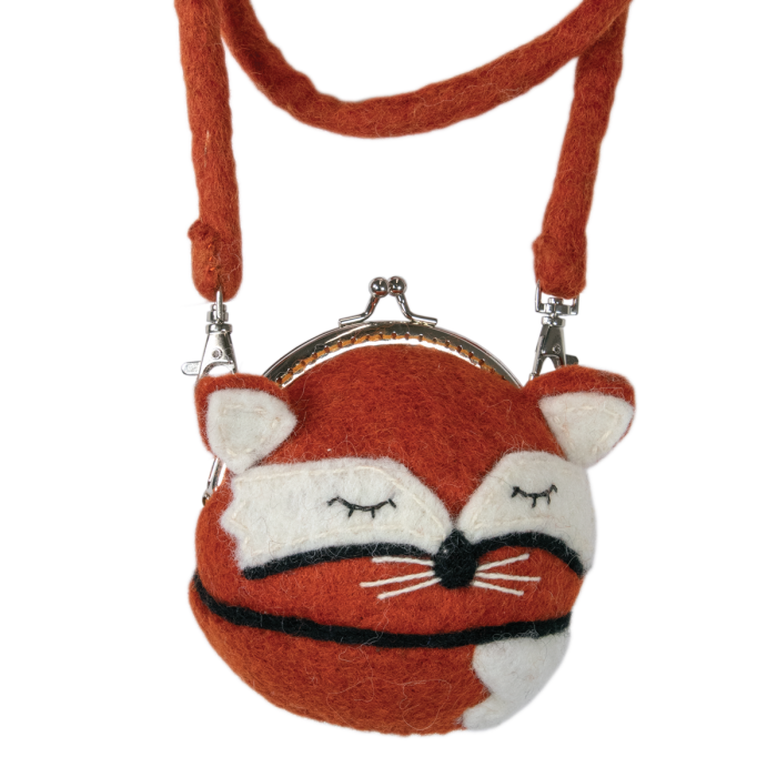 CRITTER CLUTCH: Sleepy Fox