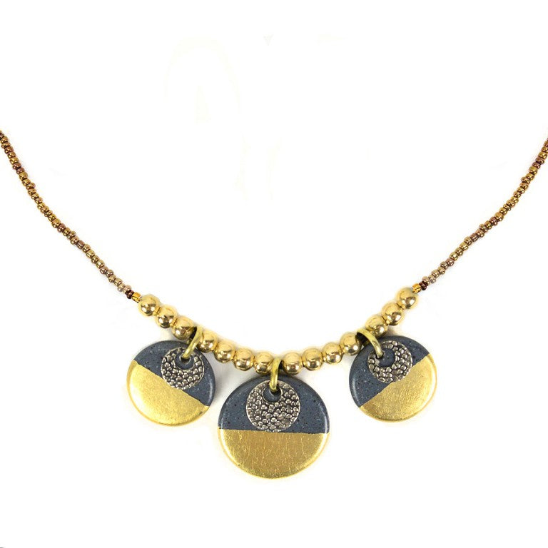 Gilded Charm Set - Necklace