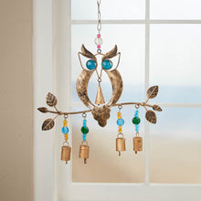 Load image into Gallery viewer, Recycled Owl Chime
