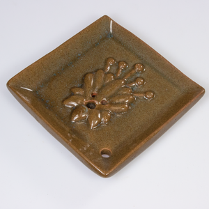 INCENSE BURNER: Flowering Fig (Olive Green)
