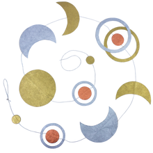 Load image into Gallery viewer, Moon Phase Garland