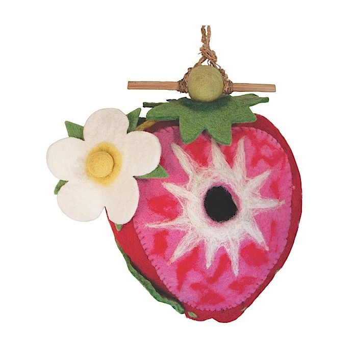 BIRDHOUSE: STRAWBERRY