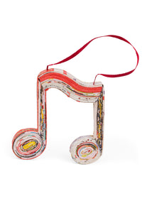 Musical Note Paper Ornament