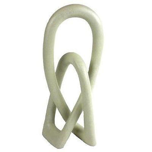 Wedding Eternity Knot - Natural - 8""