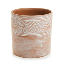 Load image into Gallery viewer, Etched Cylinder Planters