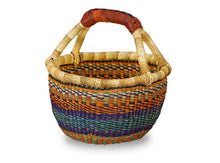 Load image into Gallery viewer, G-150 Large Mini Basket w/Leather Handle