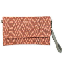 Load image into Gallery viewer, Ikat-Flat Clutch