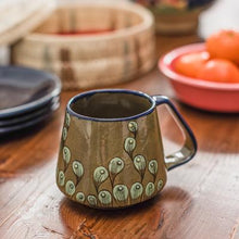 Load image into Gallery viewer, Stoneware Peacock Mug