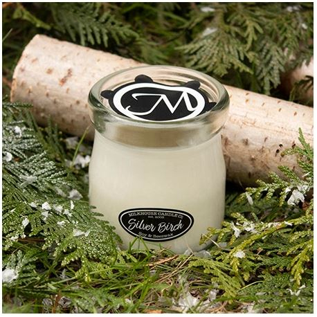 Silver Birch Candle
