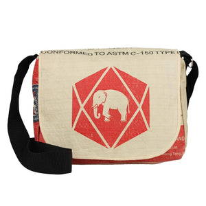 Cement Small Messenger Bags