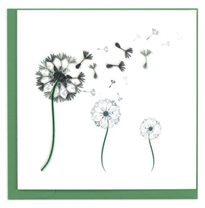 Quilled Dandelion Card