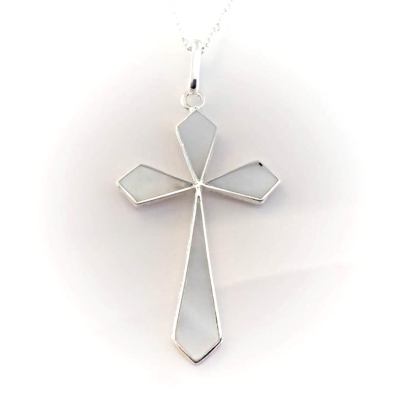 Inlaid Mother-Of-Pearl Crosses