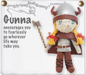 Gunnar & Gunna Viking String Doll