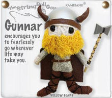 Load image into Gallery viewer, Gunnar & Gunna Viking String Doll