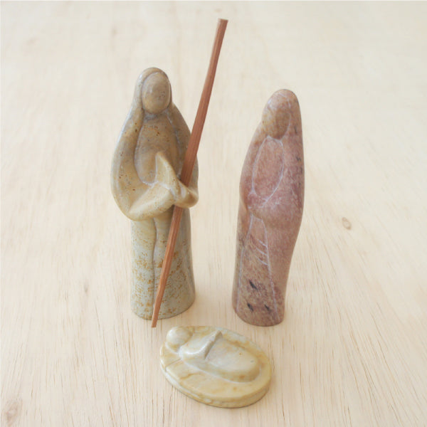 NATIVITY NATURAL 3PC