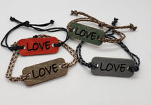 Load image into Gallery viewer, K&L Wood Bracelets